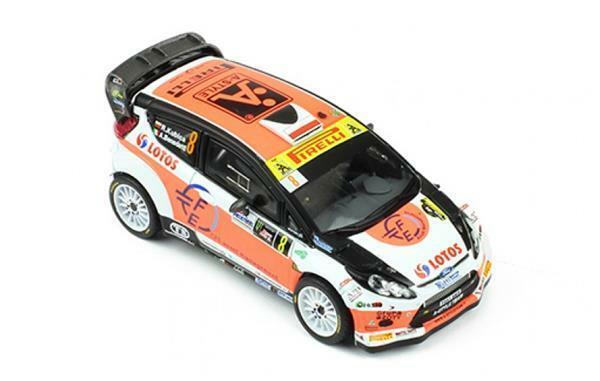 IXO Models Ford Fiesta RS WRC R.Kubica - A.Ben 1 43 RAM602