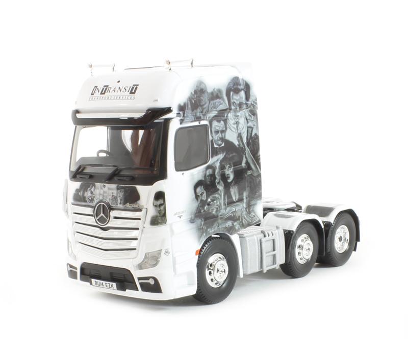 CORGI moderno camion trasporto merci pesanti CC15809 Mercedes Actros in transito unità 1 50