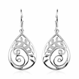 Dangle-Drop-Earrings-925-Sterling-Silver-Fishhook-Women-Jewelry-for-Women