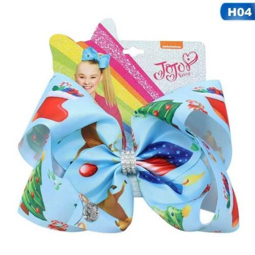 us Jojo Girl Rainbow Bows Hair Clip Grosgrain Large Ribbon Bow Hairpin
