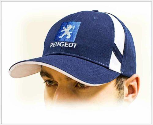 Adjustable size PEUGEOT unisex Baseball Cap Hat 100/% cotton Dark blue color