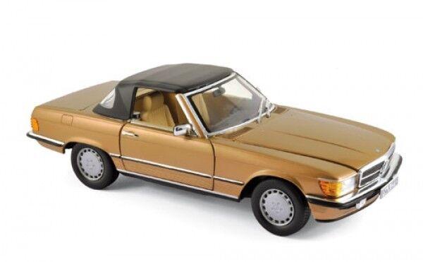 NOREV 183514 Mercedes-Benz 300 SL 1986-Bisanzio ORO METALLIZZATO 1:18