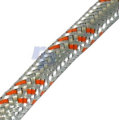 Benzinschlauch 6 mm Stahldrahtgewebe Kraftstoffschlauch Stahlflex raceparts cc