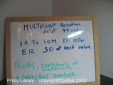 Resistor Kit Assorted 1R to 10M E12 (79 value x30E) 5% 0.5W 3YWarranty UKStock