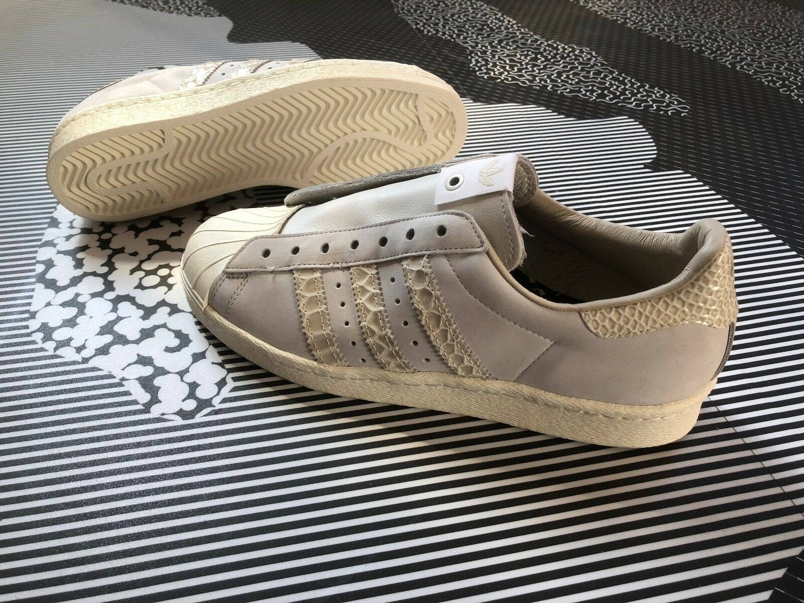 adidas Consortium Superstar BITD Back In The The The Day Pack Size 6.5 Faux Snakeskin 1a3929