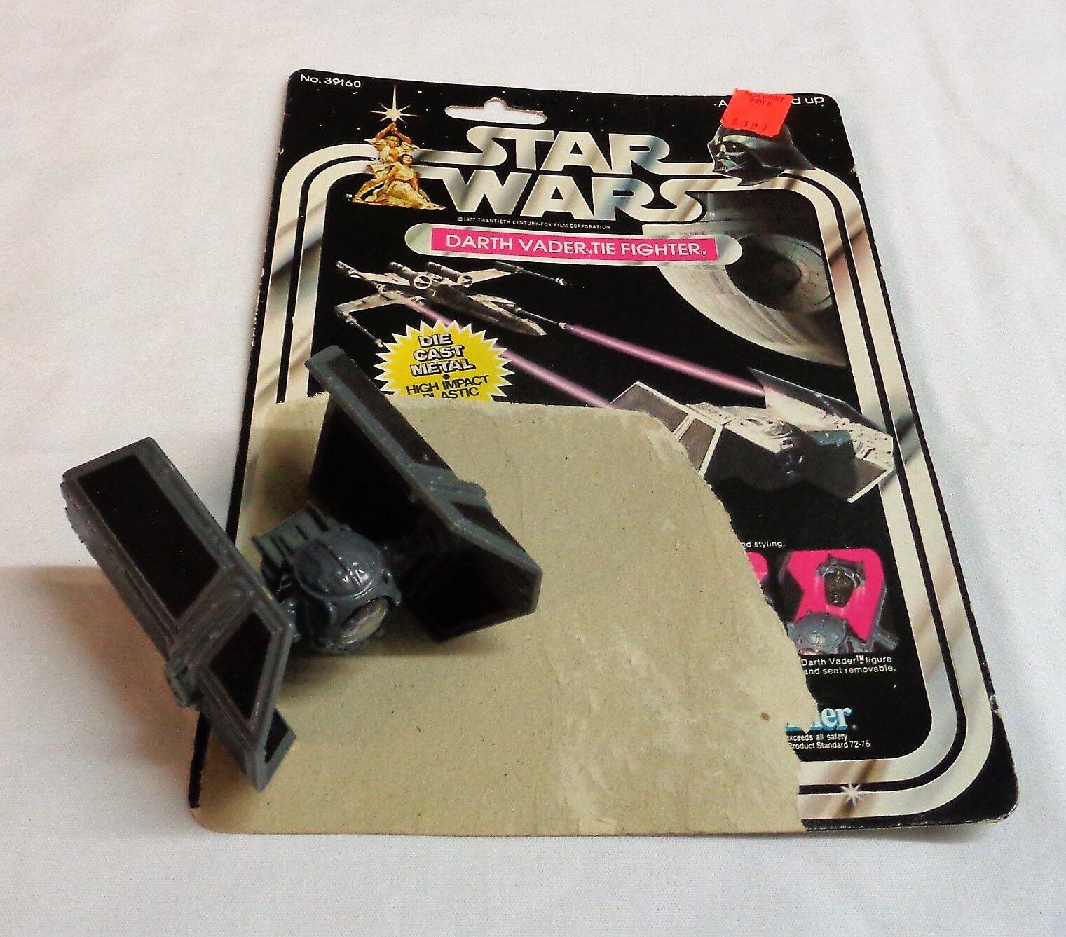 1978 Diecast Darth Vader Estrella Wars Tie Fighter completa 21 atrás, Cochetón