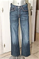 joli jeans destroy homme TOMMY HILFIGER DENIM neo flare taille W27 L32