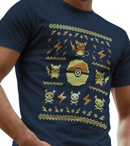 2f06f24a Pokemon Ugly Sweater Men`s T-Shirt LeRage T Shirt Mens Graphic Party ...