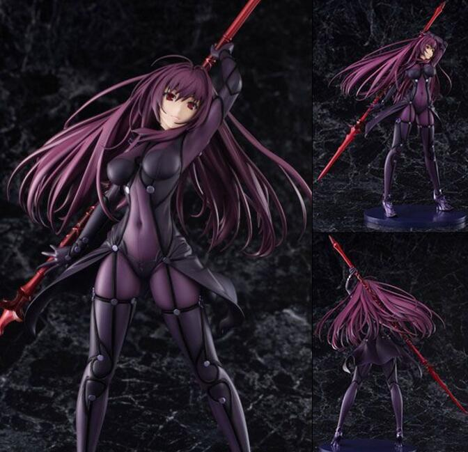 Fate Grand Order Lancer Scathach sexy anime figurine action figure toy model PVC