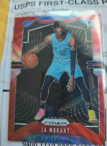Ja-Morant-Rookie-Ruby-Red-Wave-Prizms-2019-20-Panini-Prizm-249-RC-Grizzlies