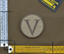 "Ricamata / Embroidered Patch Devgru ""Lambda"" with VELCRO® brand hook"