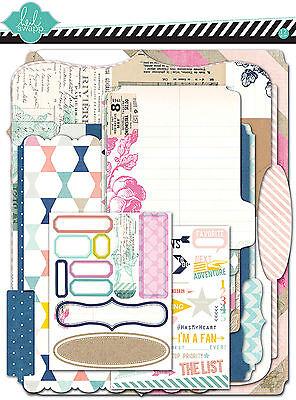 Heidi Swapp Dreamy Memory Files Scrapbooking Kit