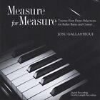 Measure for Measure by Josu Gallastegui (CD, Aug-2012, CD Baby (distributor))