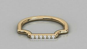 0-06ct-Natural-Diamond-Curve-Stackable-Wedding-Band-9kt-Solid-Gold