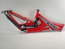 "2008 Intense M3 26"" Medium Downhill Bike Frame - Red USED 087"