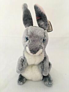 TY Beanie Baby - HOPPER the Bunny Rabbit (7 Inch) MWMTs Stuffed Animal Toy