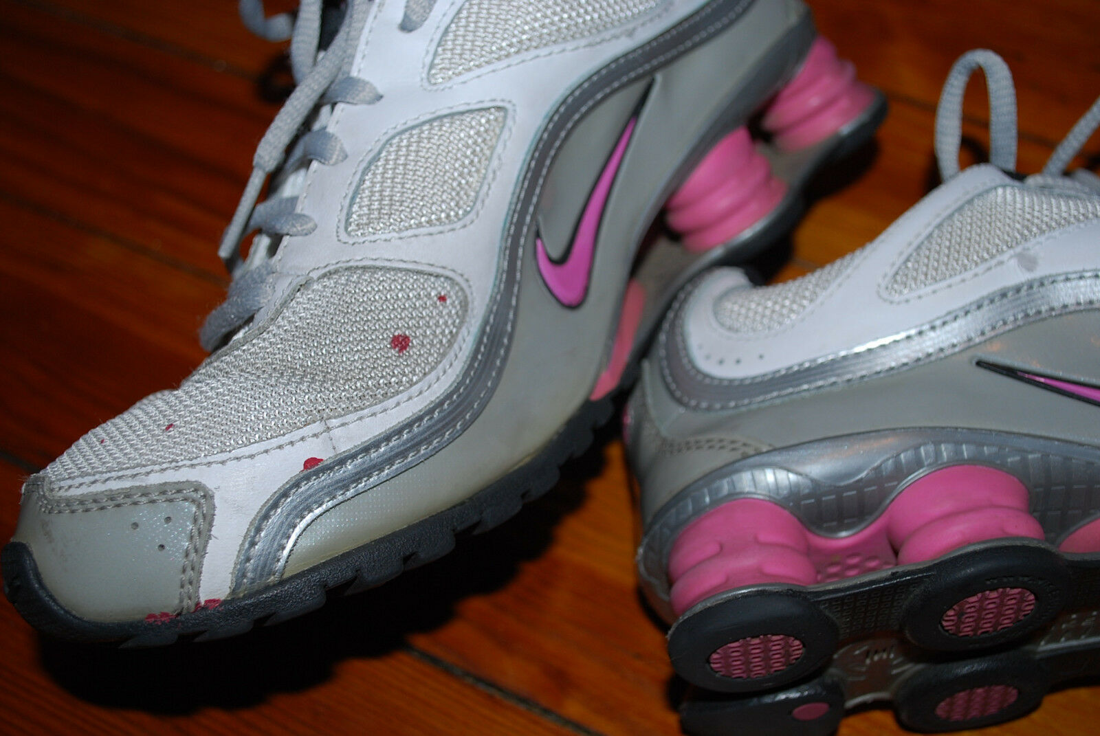 big sale f4443 1e2e0 ... Women s Nike Shox Turbo 9 Pink Gray Running Running Running Sneaker  (5.5) 1315a1