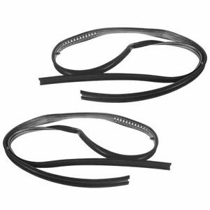 Glass Run Channel Seal Front Pair Set for Blazer Suburban Jimmy Pickup Truck New