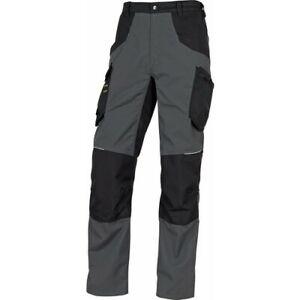Pantalon de travail noir/gris - genoux préformés - taille L - Mach 5 DELTA PLUS