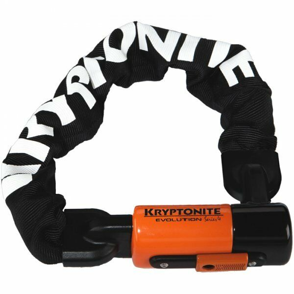 Kryptonite Evolution Serie 4 1055 Motor Bicicleta Cadena Cerradura - 10mm x 55cm