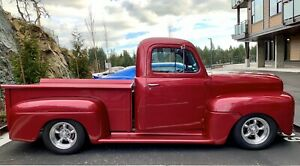 1948 Ford F-47 Rare Canadian Built Truck- Blower Hotrod
