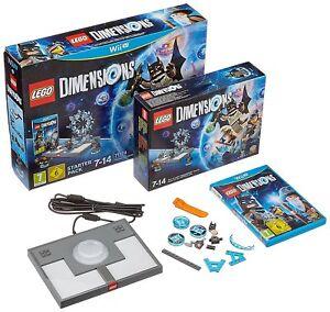 Nintendo-Wii-U-JUEGO-LEGO-Dimensiones-Paquete-De-Inicio-para-la-nueva-WIIU