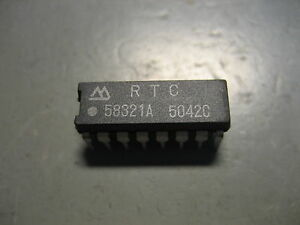 RTC-58321A-Real-time-clock-module-4-bit-I-O-IC-58321-Seiko-Epson