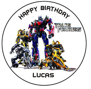 transformers wedding cake toppers transformers personalised rice paper image cake decoration 21240