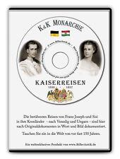 Kaiserreise CD Franz Joseph & Sisi 1856 Italien Ungarn 400 Seiten Text&Bild K&K