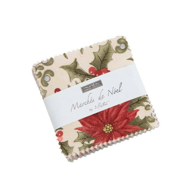 Sanctuary mini charm pack by 3 Sisters for Moda Fabrics...42--2 12 inch squares