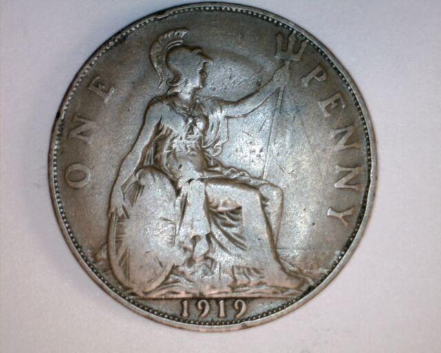 1919 Great Britain Pennie ***NICE COIN***