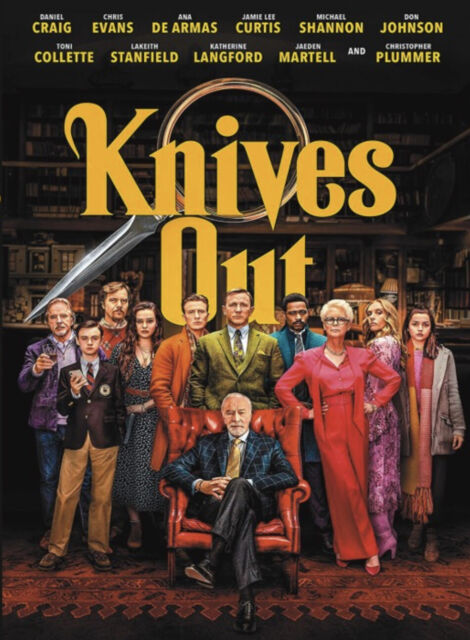 Knives Out (2019), DVD