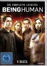 BEING HUMAN - COMPLETE SEASON 3 (US Series) -  DVD - New & sealed PAL Region 2