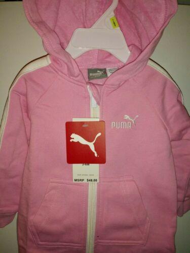 long sleeves bodysuit pink// white various Sizes Puma baby girl hoddie