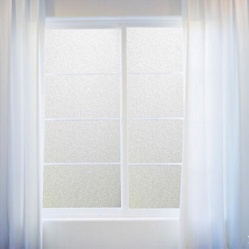 Film de fenêtre Chambre Salle de bain Autocollant en verre Confidentialité