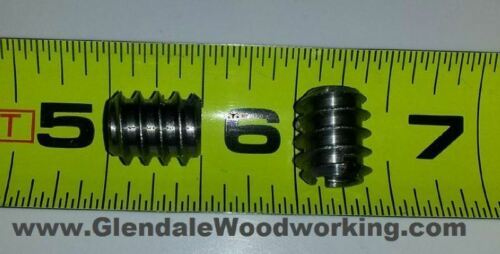 20 pieces Threaded Insert Nut MADE IN GERMANY 1//4-20 Int Thread