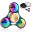 Figet-Hand-Spinner-Rainbow-Fidget-Finger-Metal-Tri-ADHD-Cube-EDC-Stress-LED-Gold