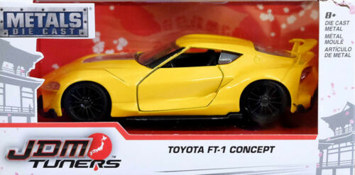 Toyota FT-1 Concept Car JDM Tuners Gelb Yellow 1:32 Jada Toys 98753