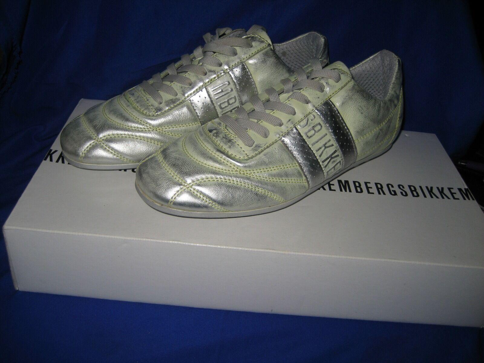 BIKKEMBERGS Soccer 106 Shaded Jaune Femmes Baskets Taille UK 4 EUR 37