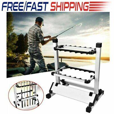 4 Pcs Tool Fishing Rod Rests U Shaped Aluminum Screw In Stand Carp Stick Holder