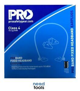 EAR-Plugs-Banded-Box-Of-10-Proband-Fixed-Headband-Ear-Plug-amp-Bonus-Earplug-Pads