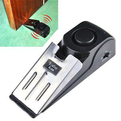 Mini New Wireless Door Stop Vibration Trigger Home Travel Security System 120DB