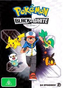 POKEMON-SEASON-14-Black-and-White-collection-1-NEW-3-DVD-24-Episodes-cartoon