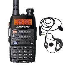 Baofeng UV-5RC Dual Band UHF/VHF FM Ham Two Way Radio + Free UV-5R C Earpiece US