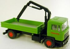 Wiking NEW HO 1/87 Scale MAN Utility/Dump Truck with Hydraulic Crane Arm