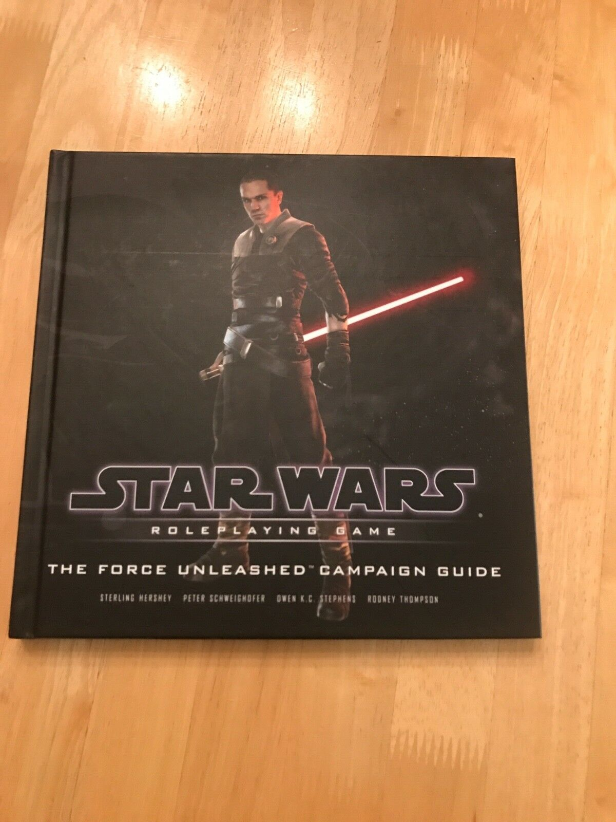 Star Wars Roleplaying Game The Force Unleashed Campaign Guide Book NEW Hardcover