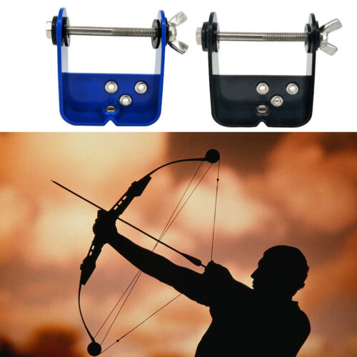 Black Archery Bow String Server String Serving Tool for Compound Bows Shooting Accessory for Various Bow