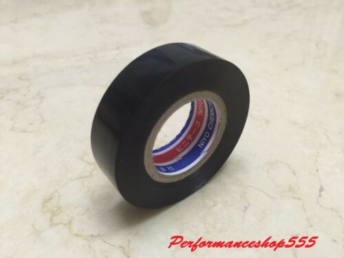 High Quality PVC Electrician Electrical Insulation Tape 0.2mm x 19mm x 10M BLACK