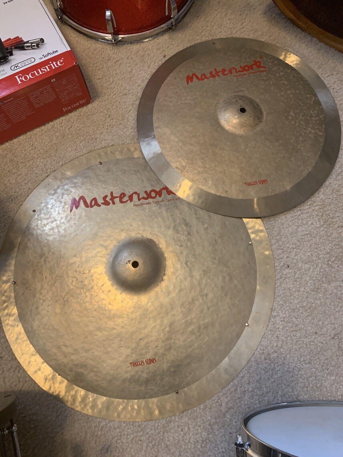 MasterWorks 18 & 22 Thallies Serie Cymbals