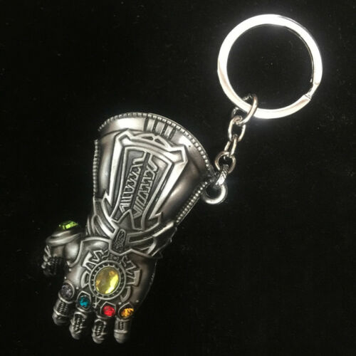 Avenger War of Inifinity Thanos Infinity Gauntlet Pendant Keychain Alloy Gift
